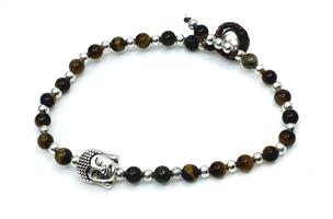 Armband - Buddha tigeröga (4 pack)