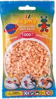 Hama perler Midi, Selvlysende Rød 207-56 1000stk