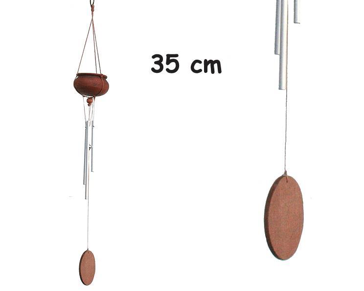 Vindspel - Mini kruka keramik (12 pack)