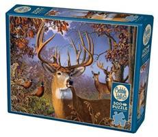 Puslespill Deer and Pheasant, 500 brikker