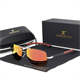 Solbrille Polarized UV400 - Silver Red