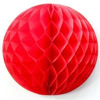 15 cm Honeycombs Rød