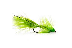 Wolly Bagger Chartreuse Cone Head Streamer #8