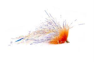Orange Marabou Monster Dumbell Eye #2