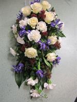 Arkkulaite valk. ruusu sin Iiris