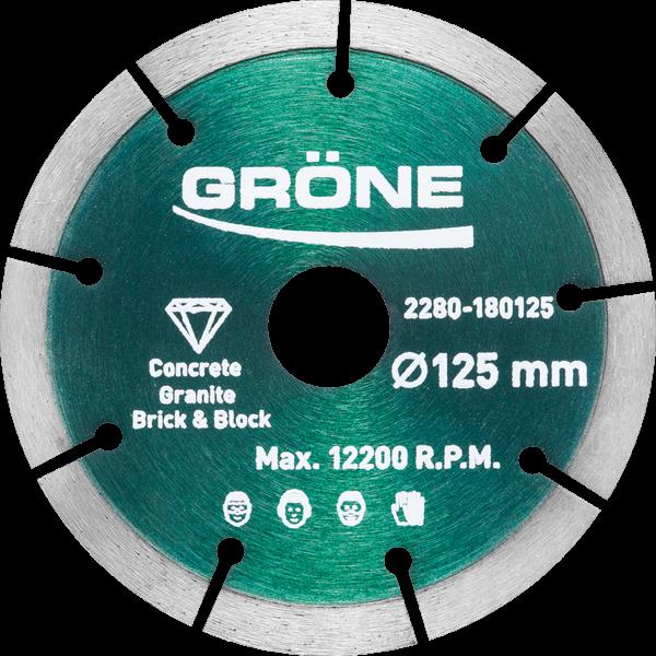 Diamantklinga 125 Granit