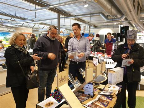 Premier launch of silwy MAGNETIC GLASSWARE in Sweden