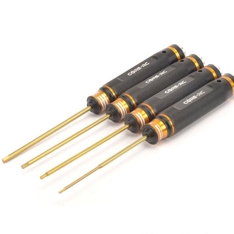 CORE RC - Insex Set 1.5, 2.0, 2.5 & 3.0 x 120mm