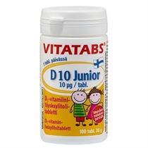D vitamin Junior 100 tabletter