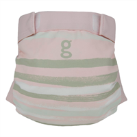 gDiapers Gee I Love the Sea Pink gPants L