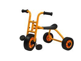 Rabo trehjuling liten m. trampor