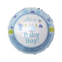 It's a Baby Boy Rund folieballong