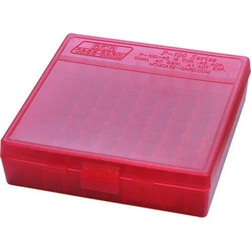 Mtm ammo box 38/357 100stk rød