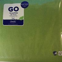 Serviett Duni - Leaf Green 125 stk