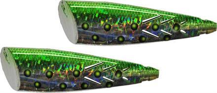 SUPER BAIT CUT PLUG 2P GREEN MAGIC