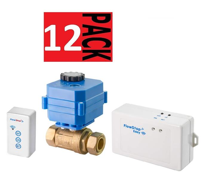 "FlowStop Easy 12 Pack 3/4"" m/2 kuplingsmuttere"