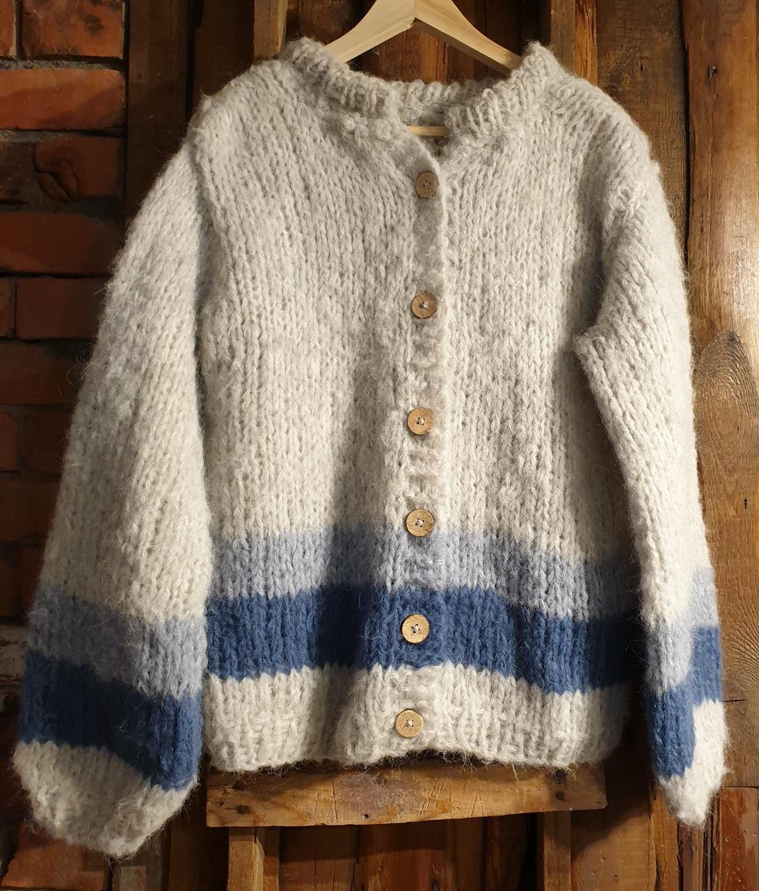 Kroksand jakka - mønster