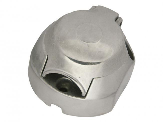Kontaktdosa 7-Polig Silver Metall
