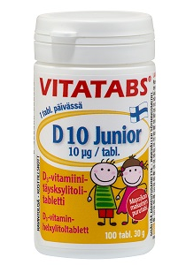 D Vitamin junior 100 tabl