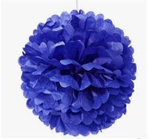 Pom Poms Royal Blue 25 cm