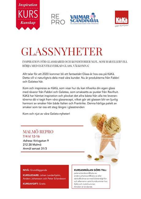 Glassnyheter 2020