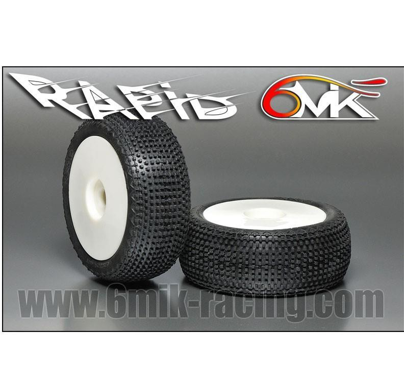 """6MIK - """"Rapid"""" Däck """"Grön"""" 1:8"""