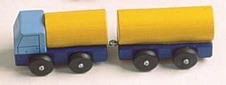 Tankbil med henger