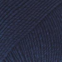 Cotton Merino - 08 Mørk Blå  UNICOLOR 50 gr