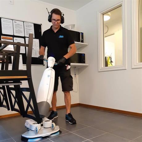 SVIS städ städmaskin i-mop XL