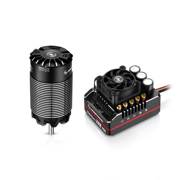 HOBBYWING - ESC XeRun XR8 Pro G2 200A Combo - 1:8