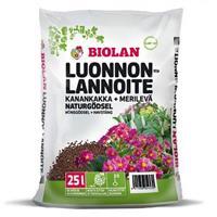 Biolan luonnonlannoite 25L
