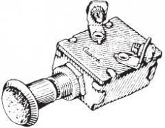 Dragströmbrytare Push-pull switch