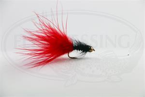 Marabou Streamer Red/Black