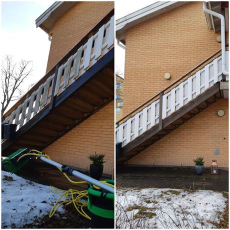 SVIS städ fasadtvätt