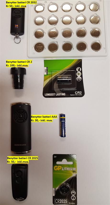 Hvilket batteri?