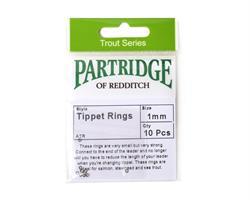 Partridge Tippet Rings 1mm