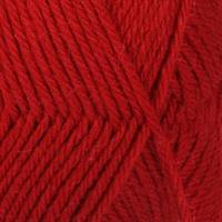 Lima - 3609 Rød UNICOLOR 50 gr