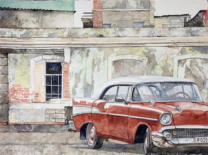 Havanna Chevy rojo