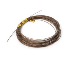 Partridge Bauer Pike  Leader Wire 60lb - Brown