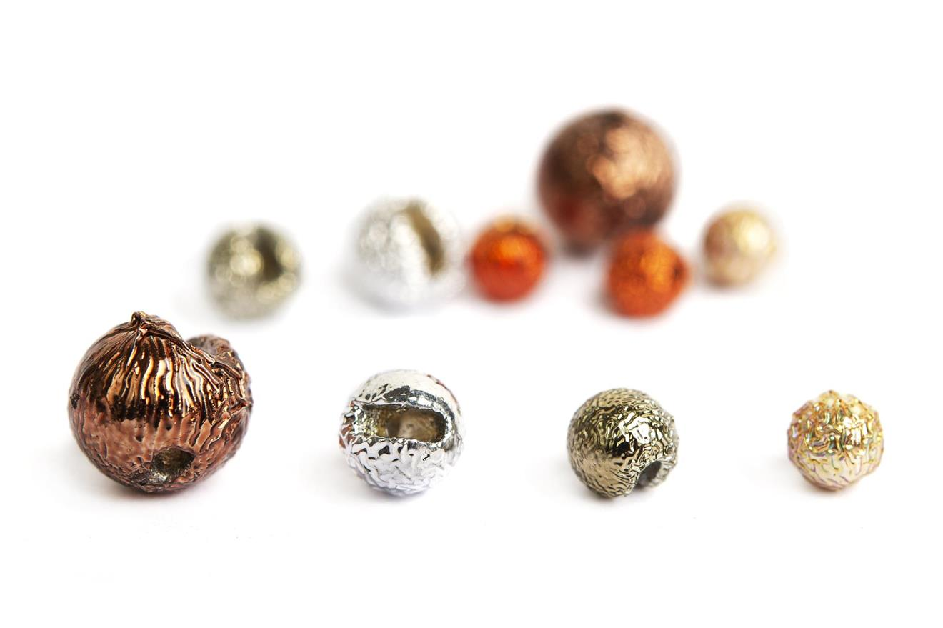 Gritty Slotted Tungsten Beads