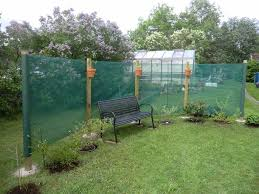 Vindnät till altan grönt 1m