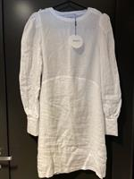 ella&il Mango Leonora linen dress white L