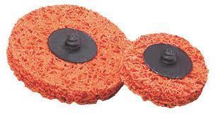 Grovrengjøringsrondell Orange 75mm