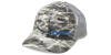 Costa mossy oak elements fishing camo mesh cap gray