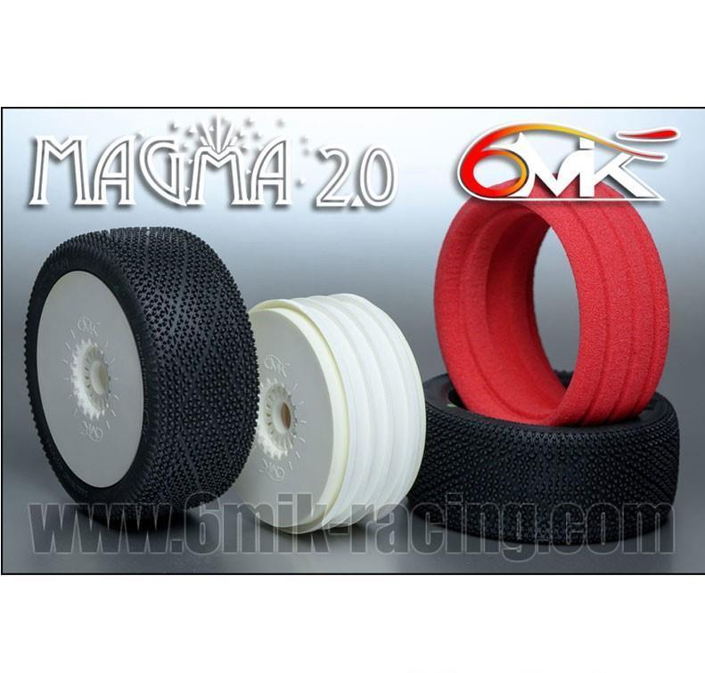 "6MIK - ""Magma 2.0"" Däck ""Grön"" 1:8"