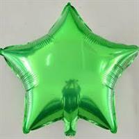 Folie - stjerne / grønn