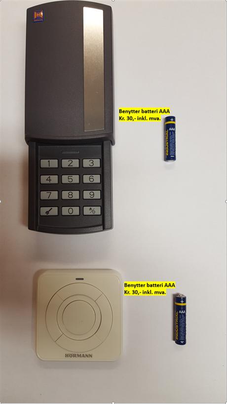 Hvilke batterier til din fjernkontroll