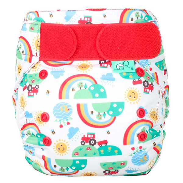 Totsbots Easyfit Star One Size tøybleie ♥Happy Day