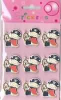 Stickers PIRATER (tre)