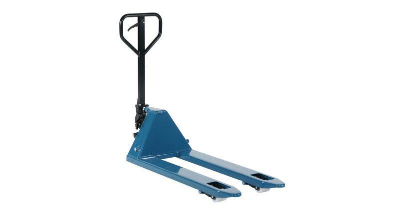 Jekketralle med nylon hjul 2,2 Tonn blå 1150x525